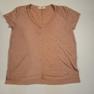 Project social tunic peachT-shirt large